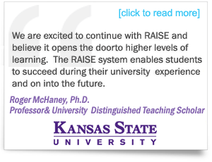 Testimonial from Testimonial from Roger McHaney, Ph.D., Professor and University Distinguished Teaching Scholar, Kansas State University
