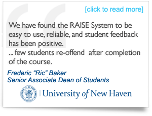 Testimonial from Frederic 'Ric' Baker, Senior Associate Dean of Students, University of New Haven